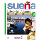 Sueña 3. Libro del alumno B2 con CD Español lengua extranjera.