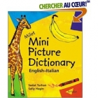 Mini Picture Dictionary English-Italian