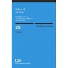 Sobre el método. Problemas de la investigación empírica en sociología
