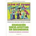Educación socio-afectiva en secundaria