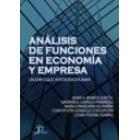 Análisis de funciones en economía y empresa