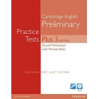 Cambridge English Preliminary. Practice Tests Plus 3 (Speaking test Multi-ROM)