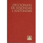 Diccionari de sinònims, idees afins i antònims