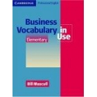 Business vocabulary in use elementary (With answers)