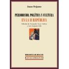 Periodismo, política y cultura en la II República (1931-1936)