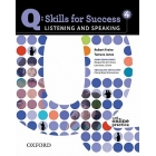 Q: Skills for Success Listening and Speaking 4. Student Book with Online Practice