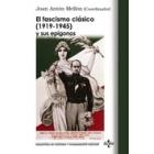 El fascismo clásico (1919-1945) y sus epígonos. Nuevas aportaciones teóricas