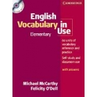 English vocabulary in use Elementary (Book with CD)
