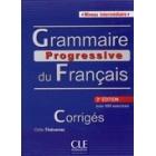 Grammaire progressive du français Niveau Intermédiaire avec 680 exercices. Corrigés (3e. édition)