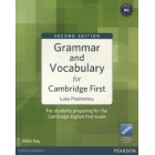 Grammar and Vocabulary for Cambridge First Second Edition
