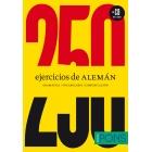 250 ejercicios de ALEMÁN (Libro + CD)