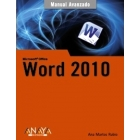 Word 2010. Manual avanzado