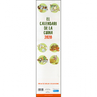 El calendari de la Cuina 2017