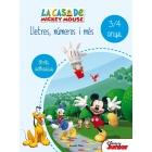 La casa de Mickey Mouse. Lletres, números i més 3-4 anys