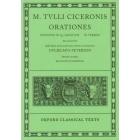 Orationes III. Divinatio in Q. Caecilium. In Verrem ( Recognovit brevique adnotatione critica instruxit Glielmus Peterson)