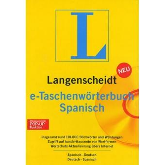 Langenscheidt Taschenwörterbuch Spanisch CD-ROM spanisch-deutsch/deutsch-spanisch. 120.000 Stichworter und Wendungen