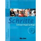 Schritte international 3 (A2/1) (Kursbuch + Arbeitsbuch + Arbeitsbuch-CD + Glosario XXL)