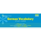 German Vocabulary-Sparknotes Study Cards