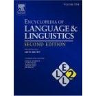 Encyclopedia of language and linguistics, 14 vols.