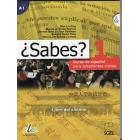 ¿Sabes? 1 Libro del alumno + CDs. Curso de español para estudiantes chinos de nivel A1 del MCER
