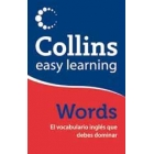 Collins easy learning. Words El vocabulario inglés que debes dominar