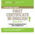 Cambridge First Certificate in English 1 for Updated Exam Audio CD's