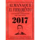 Calendario Zaragozano 2017. Almanaque El Firmamento. (Rojo)