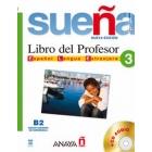 Sueña 3 B2 Libro del profesor (Incluye Audio CD)