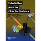 Estadística para las ciencias sociales: libro y CD-ROM