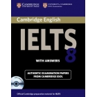 Cambridge IELTS 8 Self-study Pack (Student's book with answers and Audio Cds)