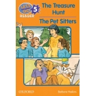 The Treasure Hunt/The Pet Sitters (Let'sGo Reader 5)