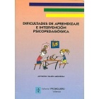 Dificultades del aprendizaje e intervención psicopedagógica