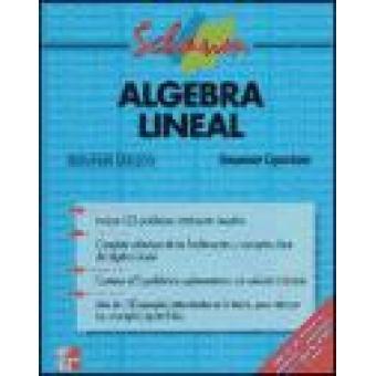 Algebra lineal. (Schaum)