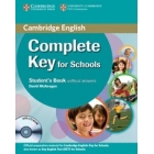 Complete Key for Schools Student's Pack