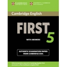 Cambridge English First 5  Student's Book with answers