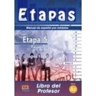 Etapas 5 nivel A2 (Pasaporte). Libro del profesor