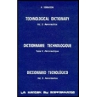 Technological dictionary. Aeronautics
