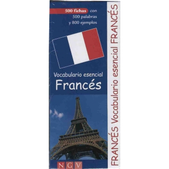 Vocabulario esencial franc s 500 fichas con 500 palabras for Vocabulario cocina frances