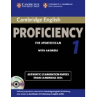 Cambridge English Proficiency 1 for Updated Exam (2013) Self-Study Pack