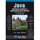 Java. Interfaces gráficas y aplicaciones para internet