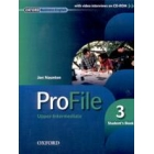 Profile upper-intermediate Student's Book (Con CD-ROM)