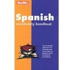 Spanish vocabulary handbook