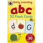 Early Learning a b c. 52 Flash Cards