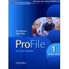 Profile 1 (pre-intermediate Student's Book) (with video interviews on CD-ROM)