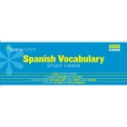 Spanish Vocabulary-Sparknotes Study Cards