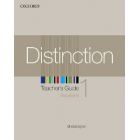 Distinction 1 Teacher´s Guide