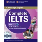 Complete IELTS Bands 6.5-7.5 (C1) Student's Book with answers with CD-Rom