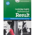 Certificate in Advanced English Result Workbook With Answer Key+CD-R Pack Exam 2015