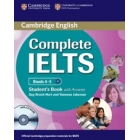 Complete IELTS Bands 4-5 B1 (Student's Book with answers with CD-ROM and Class Audio Cds (2))