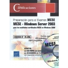 Windows Server 2003 para certificados MCSE en Windows 2000/ Examen 70-296
